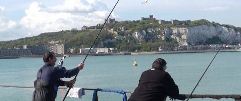 Fishing in Dover, Deal and Sandwich